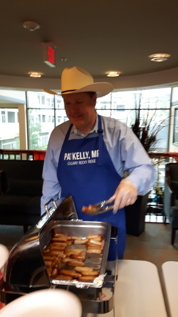 Rocky Ridge Retirement Residence Stampede Breakfast